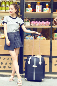 Women Fashion Rolling Suitcase