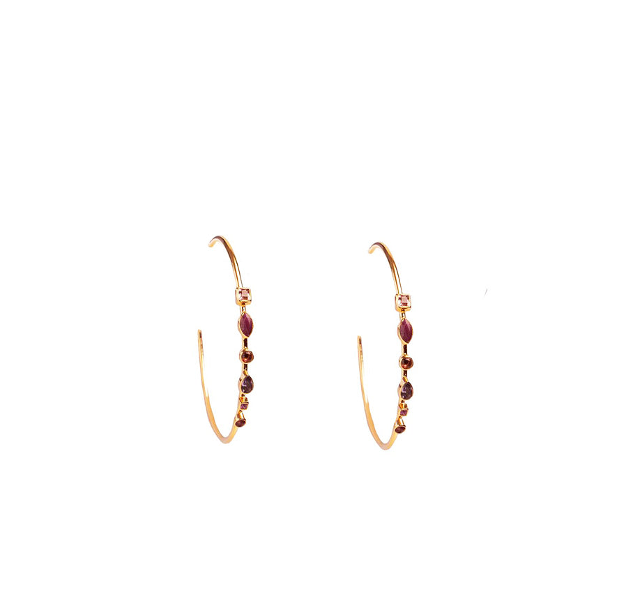 Rosa Earrings - Anna Design Jewellery