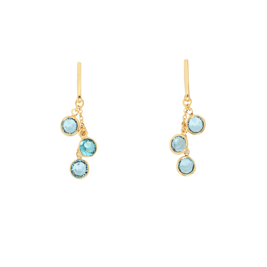 Azure Earrings - Blue - Anna Design Jewellery