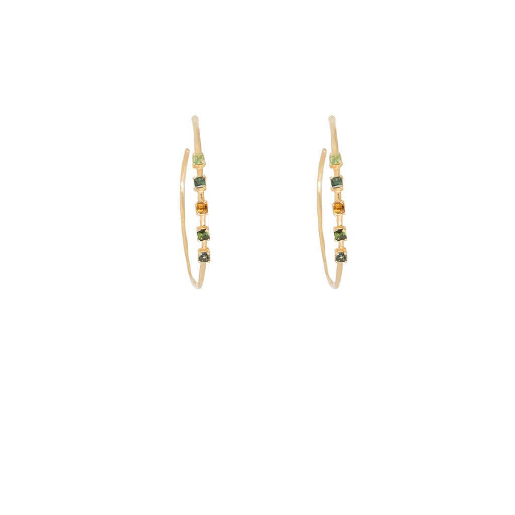 Elisabetta  Hoop Earrings - Anna Design Jewellery