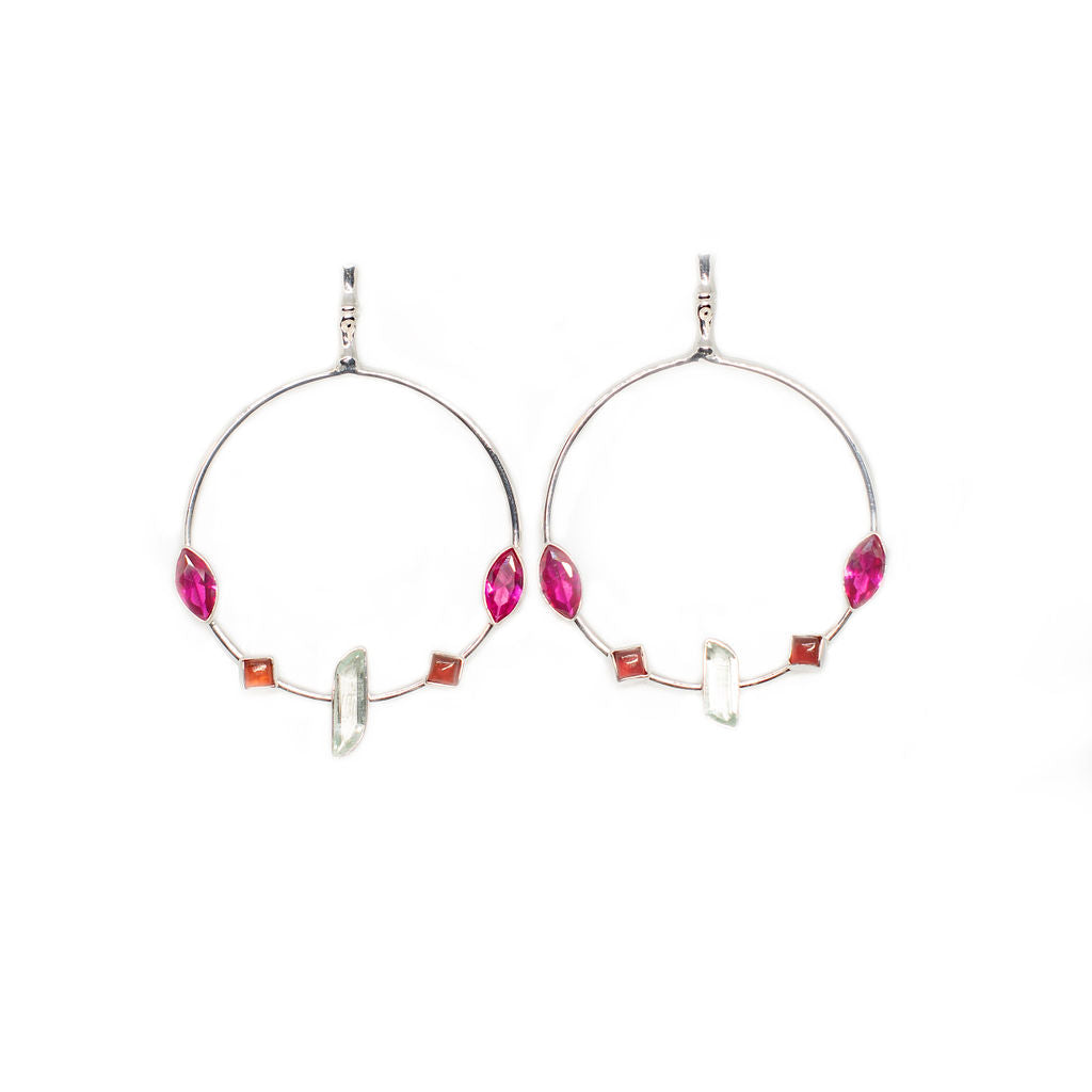 Lolita Silver Earrings - Anna Design Jewellery