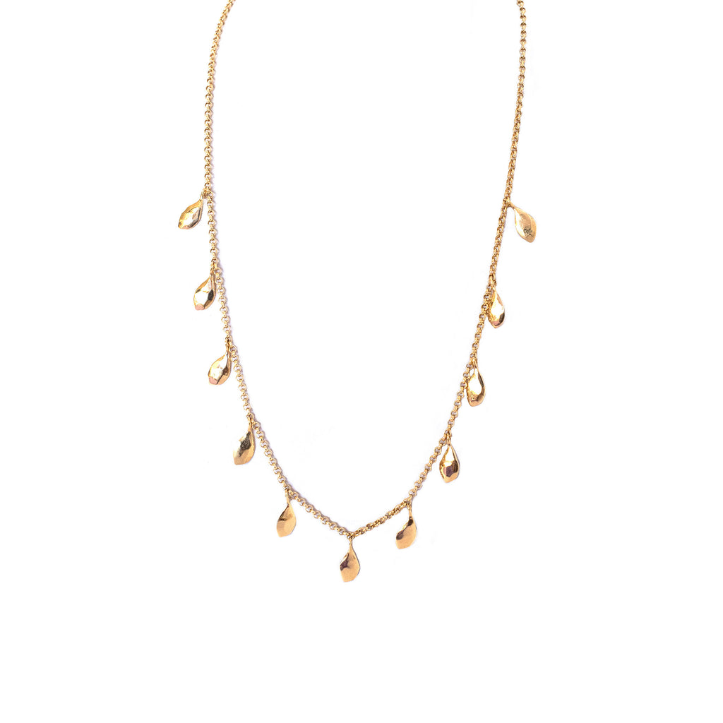 Bella Gold Necklace - Anna Design Jewellery