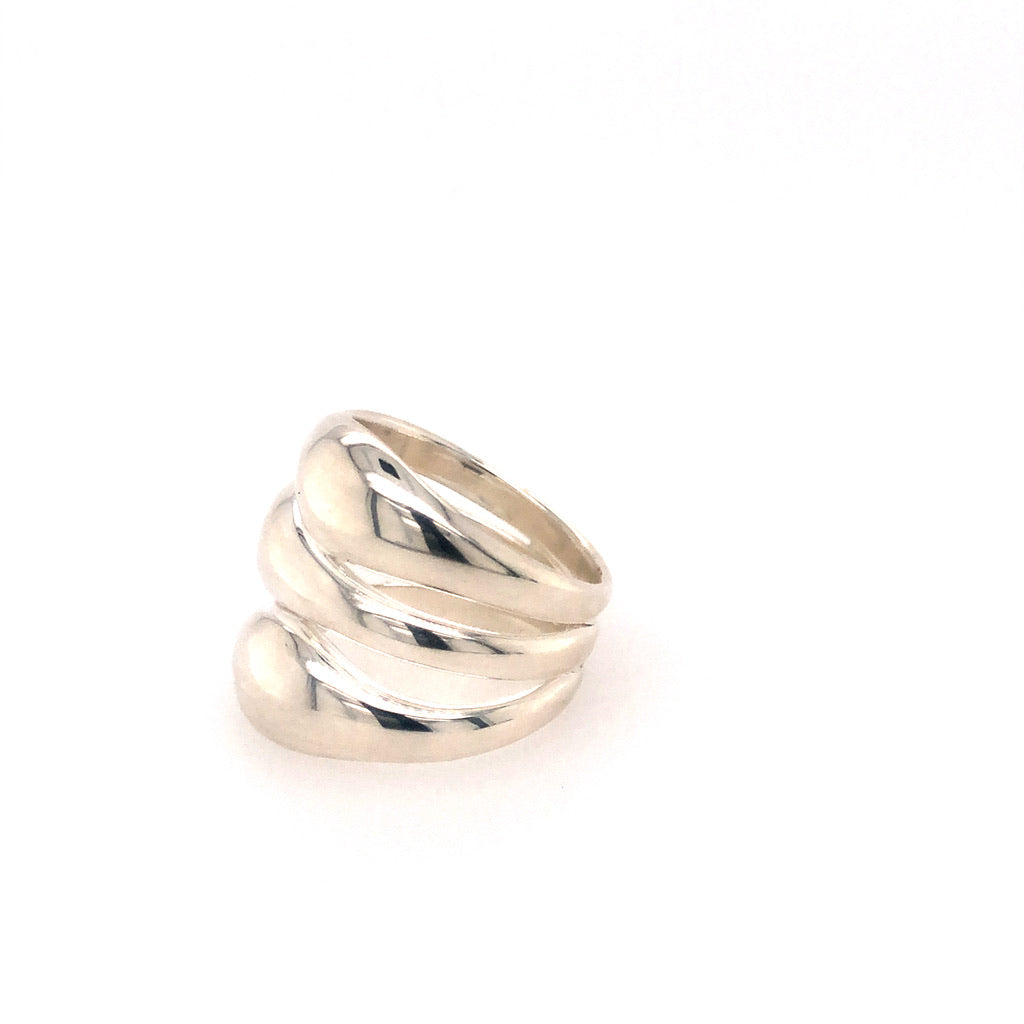 Trilogy Ring Silver - Anna Design Jewellery