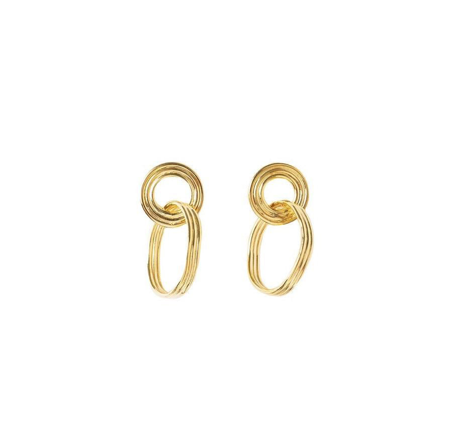 Goldie earrings - Anna Design Jewellery