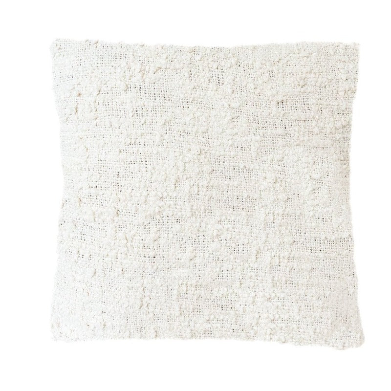 "White Textured Pillow (20"" x 20"")"