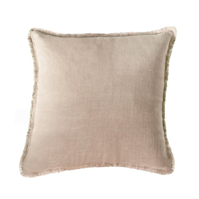 "Beige Linen Pillow (20"" x 20"")"