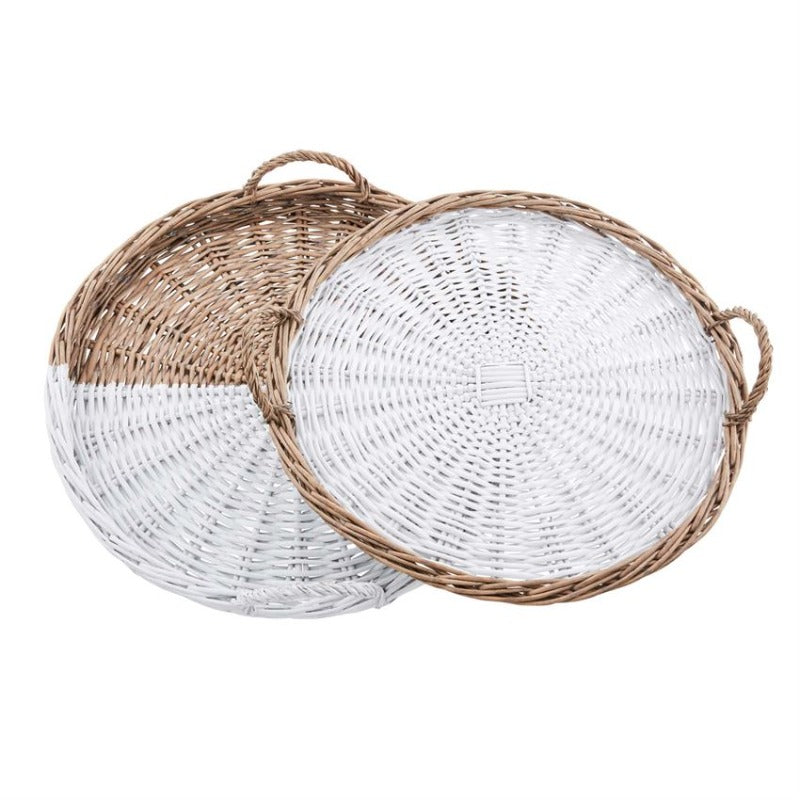 Willow Basket Tray (2 Styles)