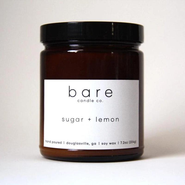 Bare Candle- Sugar + Lemon