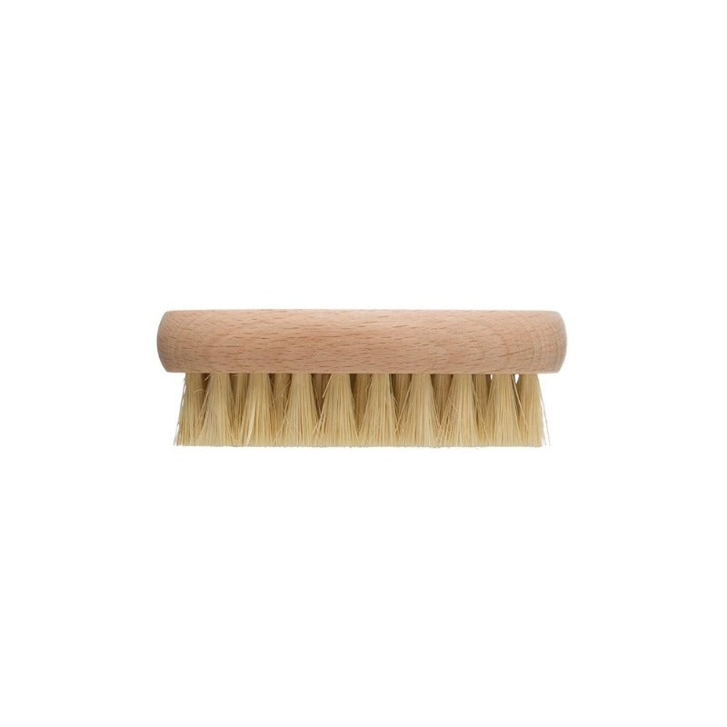 "4.25"" Tampico & Beech Wood Vegetable Brush"