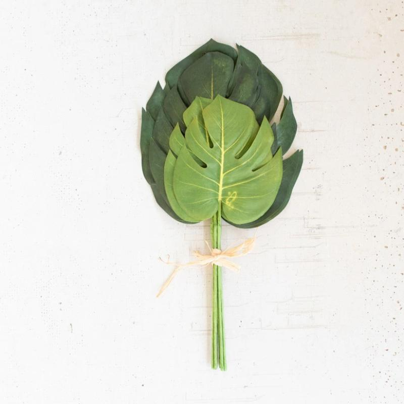 "Monstera Leaf Bundle- 16""t"