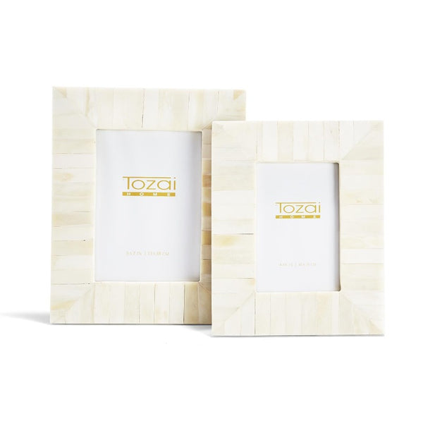 Ivory Solid Tile Frame (3 Sizes)