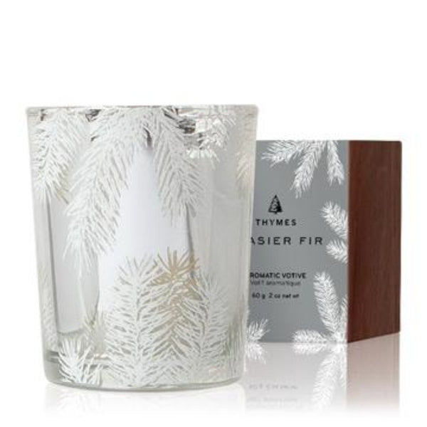 Thymes Fasier Fir Statement Votive Candle