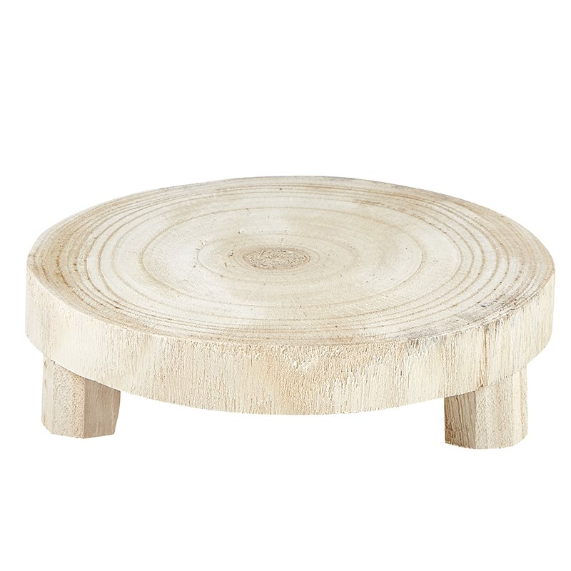 Natural Paulownia Wood Riser (2 Sizes)