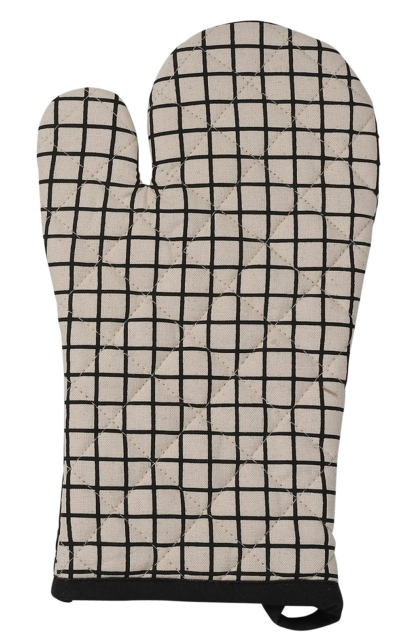 Black & White Colet Oven Glove (2 Styles)