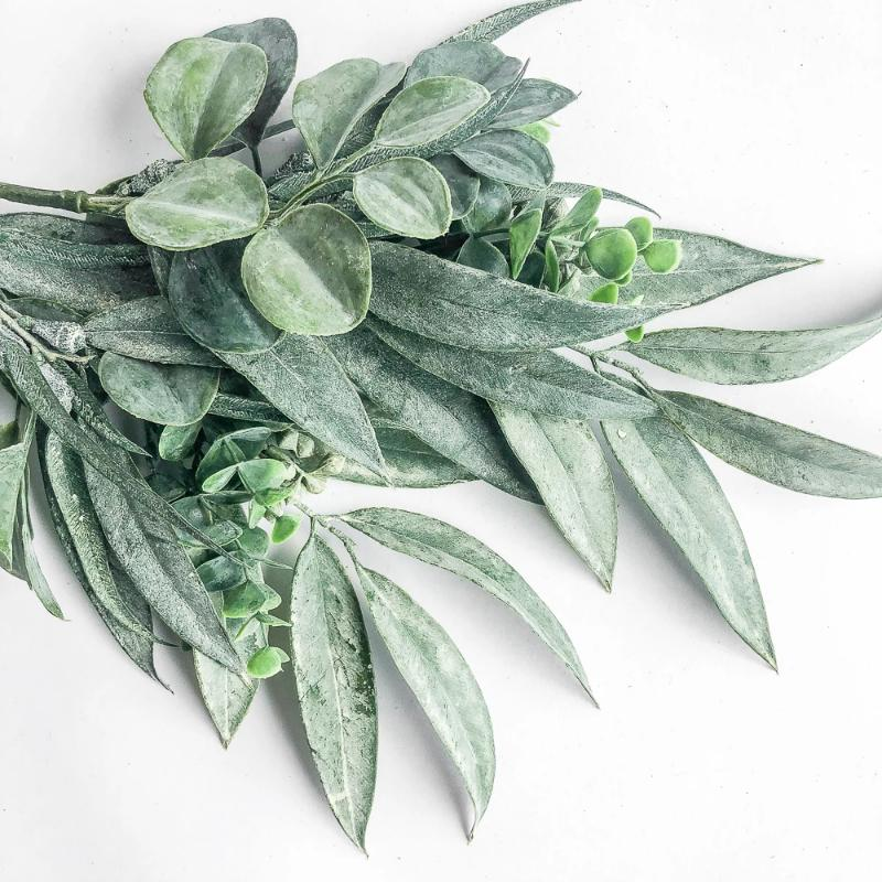 Light Green Mixed Eucalyptus Spray