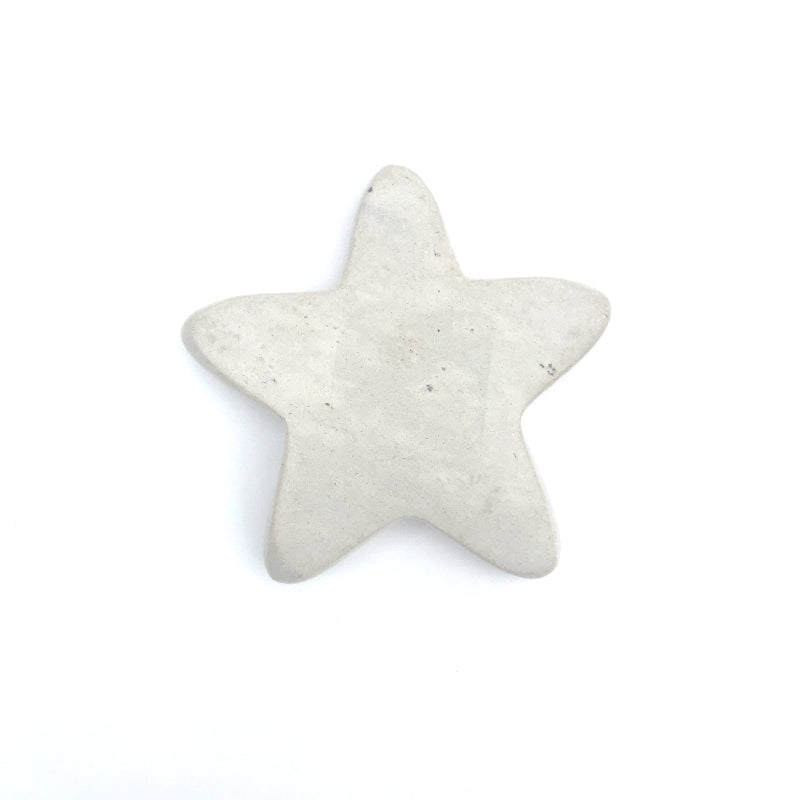 Hand Carved Stone Star