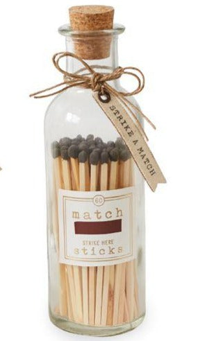 Large Match Stick Bottle (3 Colors Available)