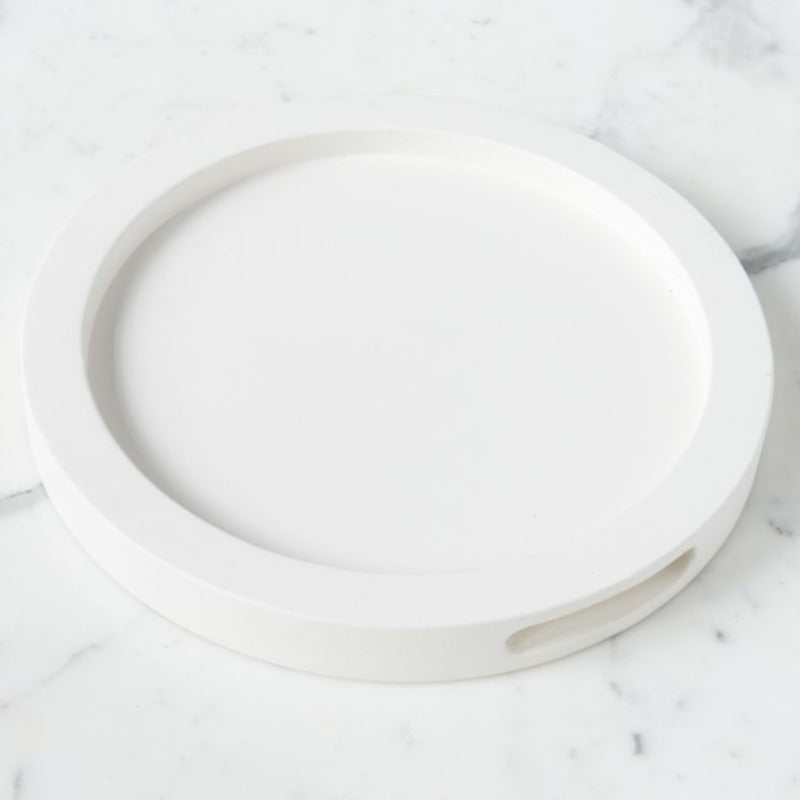 White Round Nesting Tray (2 Sizes)