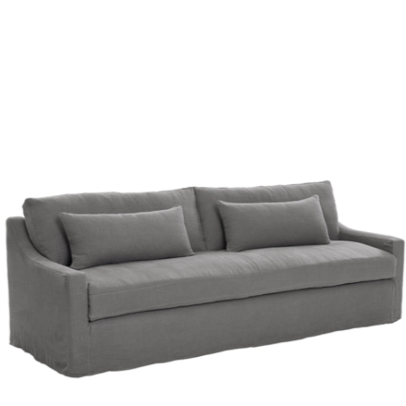 Legacy Grande Slip Covered Custom Sofa 89.5Lx41Dx38H
