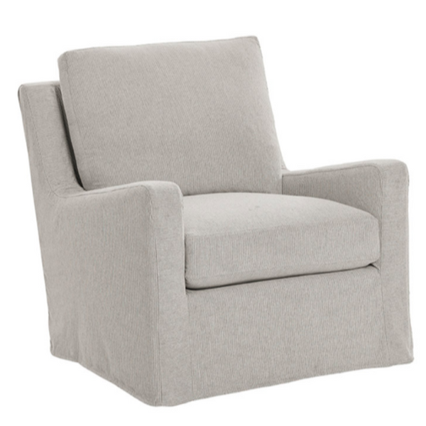 Stewart XL Custom Slip Cover Occasional Chair 33.5W 37D 39H