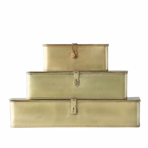 Brass Box Set- Rectangle