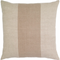"Pure Linen Stripe Pillow -22""x22"""