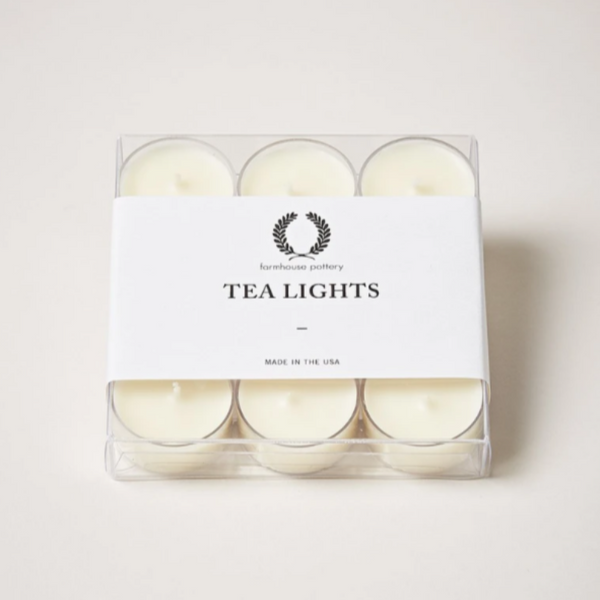 Tealight Candles - Set of 9 by Farmhouse Pottery