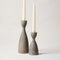 Grey Pantry Candlestick by Farmhouse Pottery (2 Sizes)