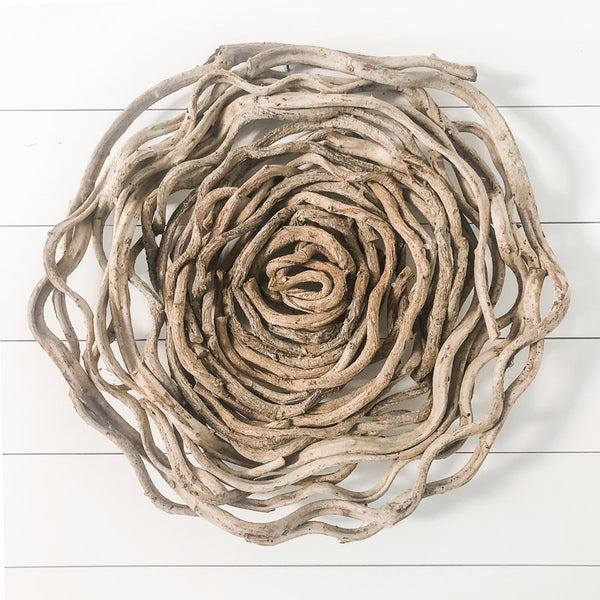 "30"" Large Circle Vine Art"