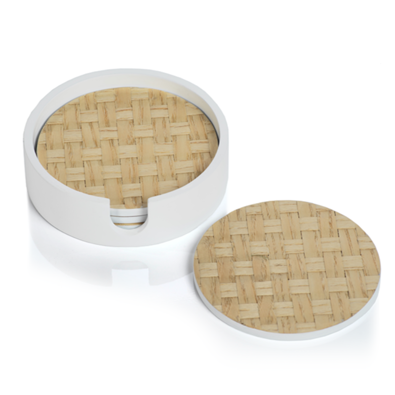 Round Woven Coaster (Set of 4)