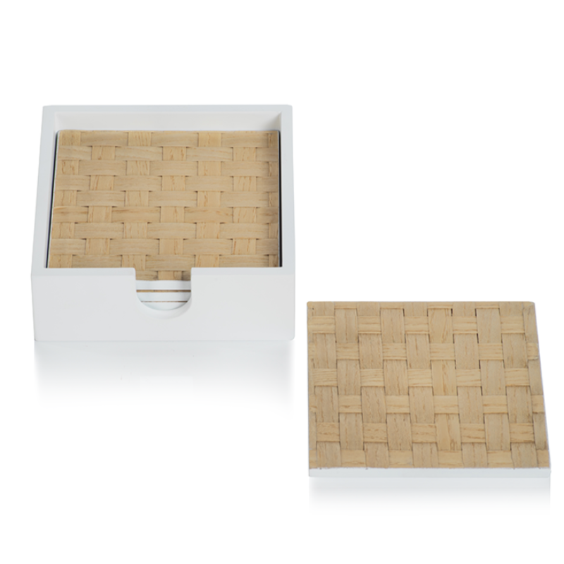 Square Woven Coaster (Set of 4)