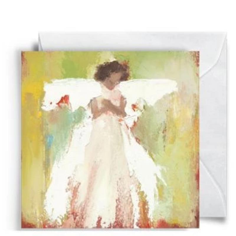 Angel Enclosure Card