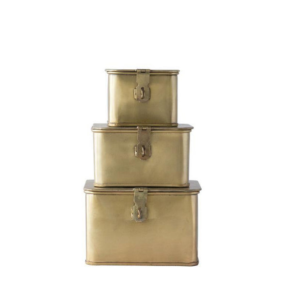 Brass Box Set- Square