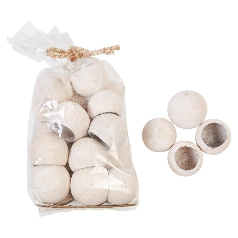 Dried Natural Bell Cups - 20 pieces