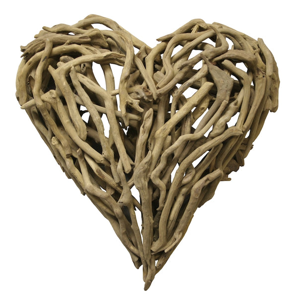 Driftwood Heart Wall Art-Small