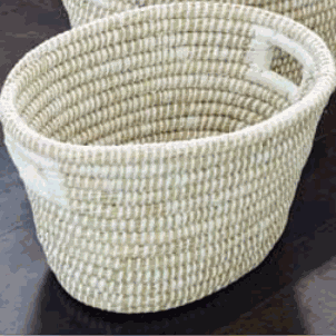 Small Oval Rivergrass Basket