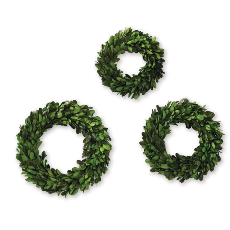 Mini Boxwood Wreath