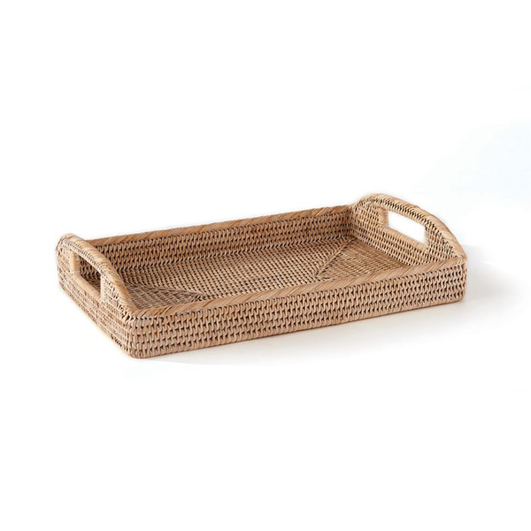 Burma Rattan Morning Tray