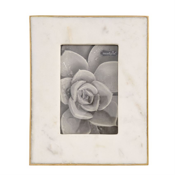 Marble Frame with Gold Edge (2 Sizes)