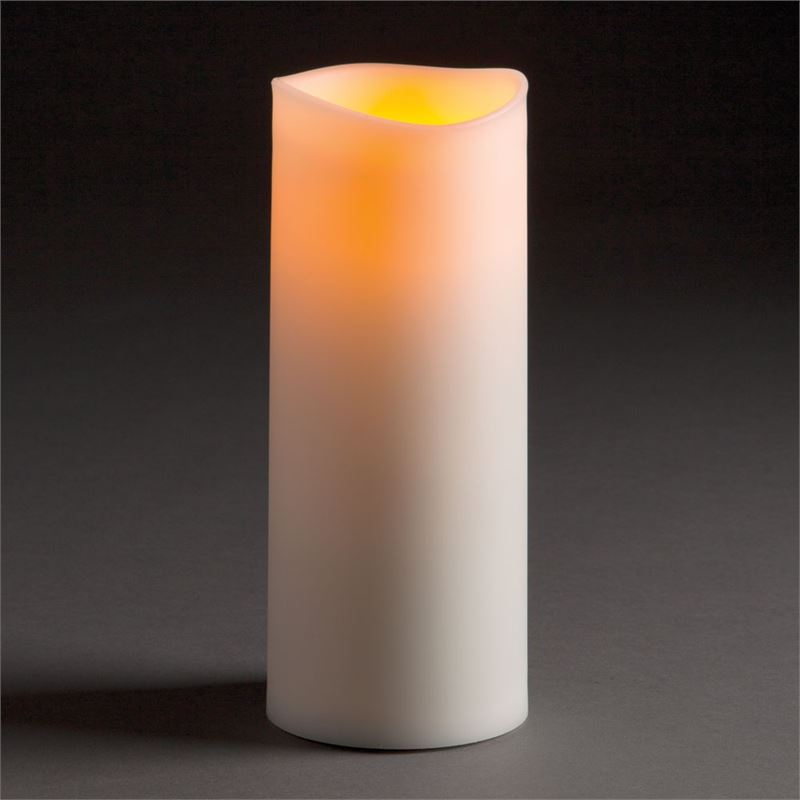 "Outdoor Flameless Candle-3.5""x8.5"""