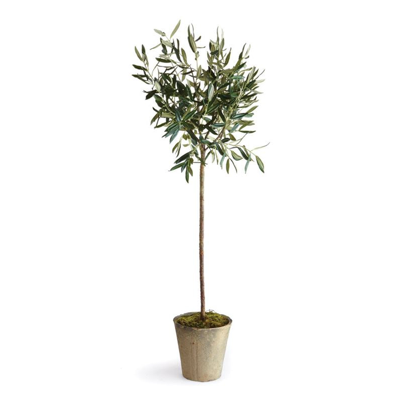 "46"" Potted Faux Olive Tree in Pot- DS Only"