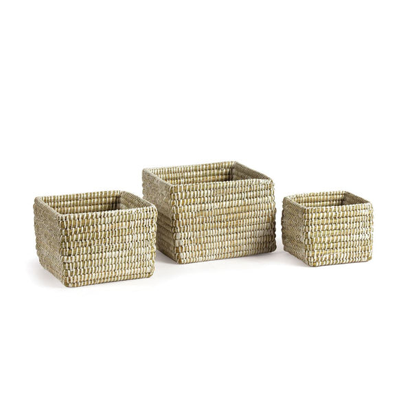 Mini Square Rivergrass Basket