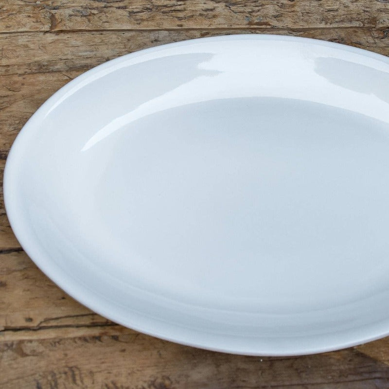 White Pacifica Large Serving Platter