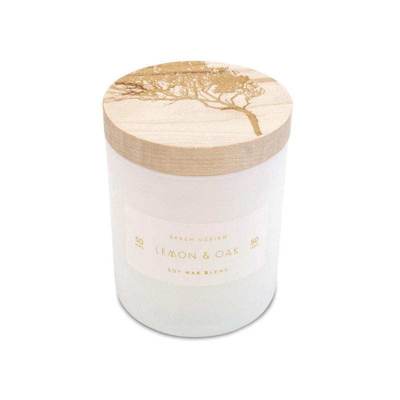 Maple Lid Candle (3 Scents)