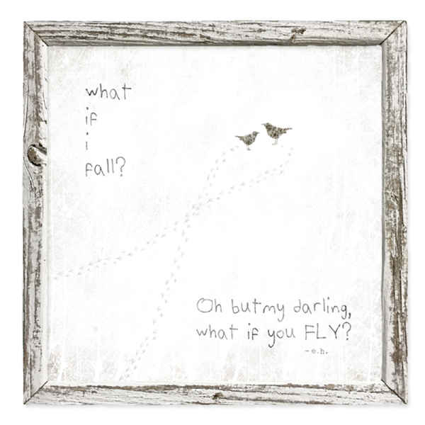 What if you Fly? Art