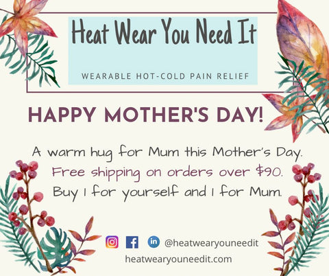 Heat Wear You Need it Mother's Day offer. Buy two and get free shipping.