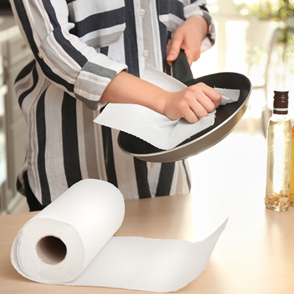 Washable Bamboo Paper Towels (1 Roll)