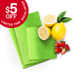 $5 OFF SPECIAL - Zero-Waste Bees Wax Food Wraps