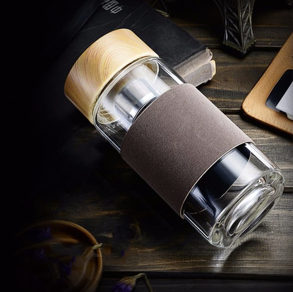 Zero-Waste Insulated Glass Bottle