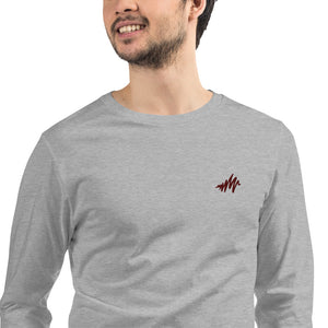 Waves | Embroidered Unisex Long Sleeve